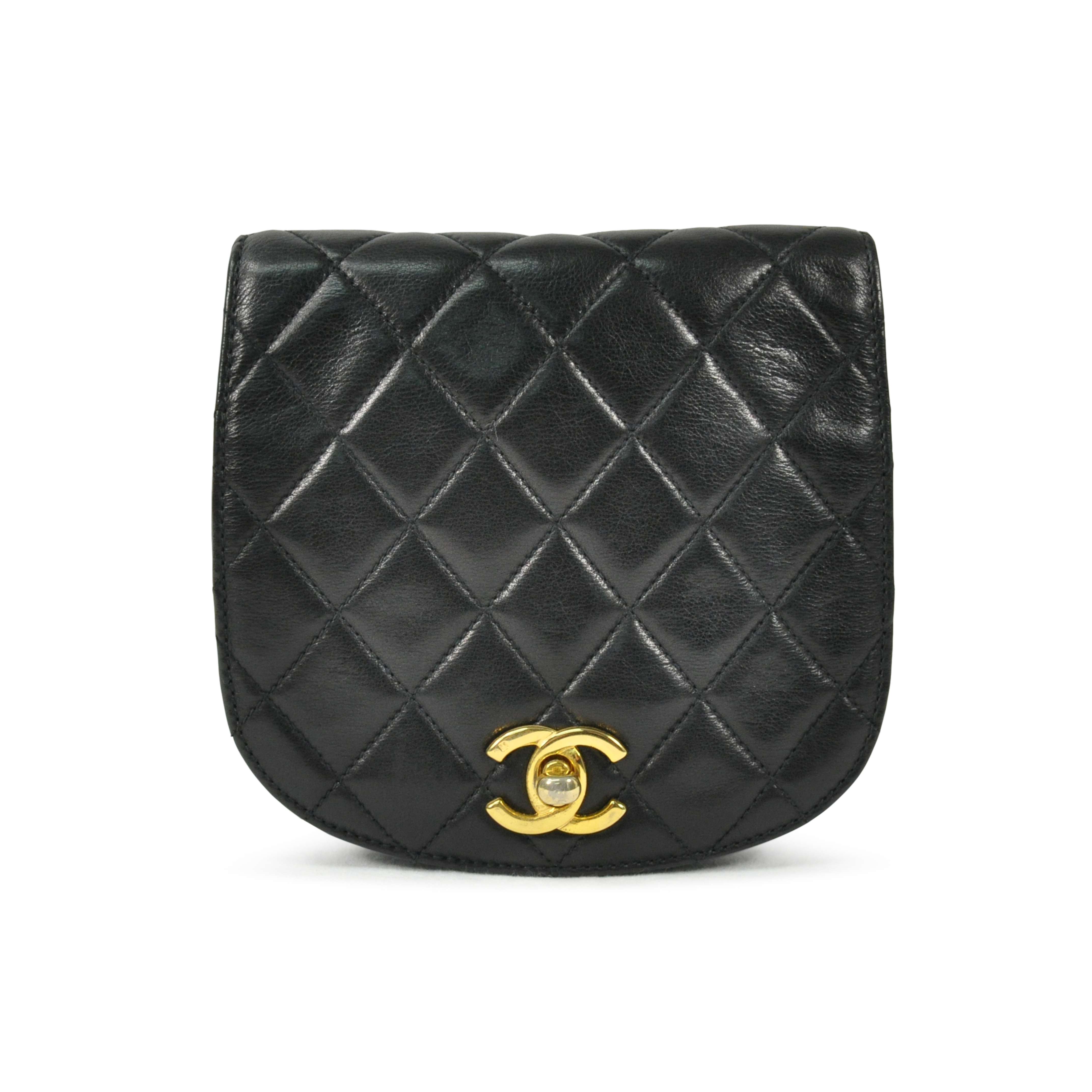 second hand chanel quilted belt bag the fifth collection. Black Bedroom Furniture Sets. Home Design Ideas