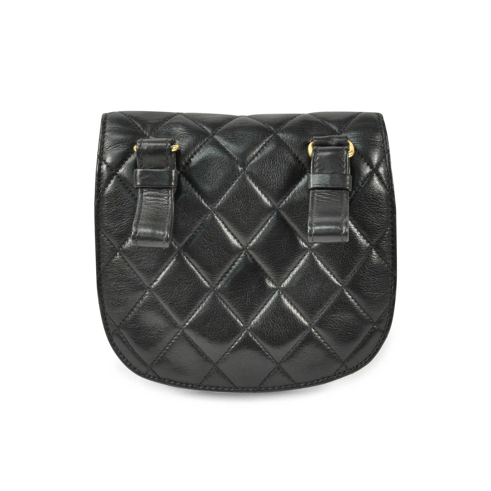 6f8d15cea914 ... Authentic Vintage Chanel Quilted Belt Bag (PSS-200-00502) - Thumbnail 1  ...