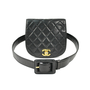 Authentic Vintage Chanel Quilted Belt Bag (PSS-200-00502) - Thumbnail 3
