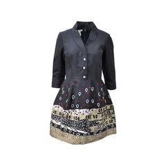 Silk Embellished Dress