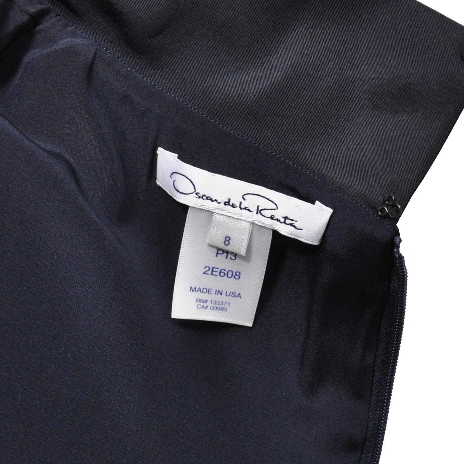 0eff24c540ec2 ... Authentic Second Hand Oscar de la Renta Silk Embellished Dress  (PSS-200-00491