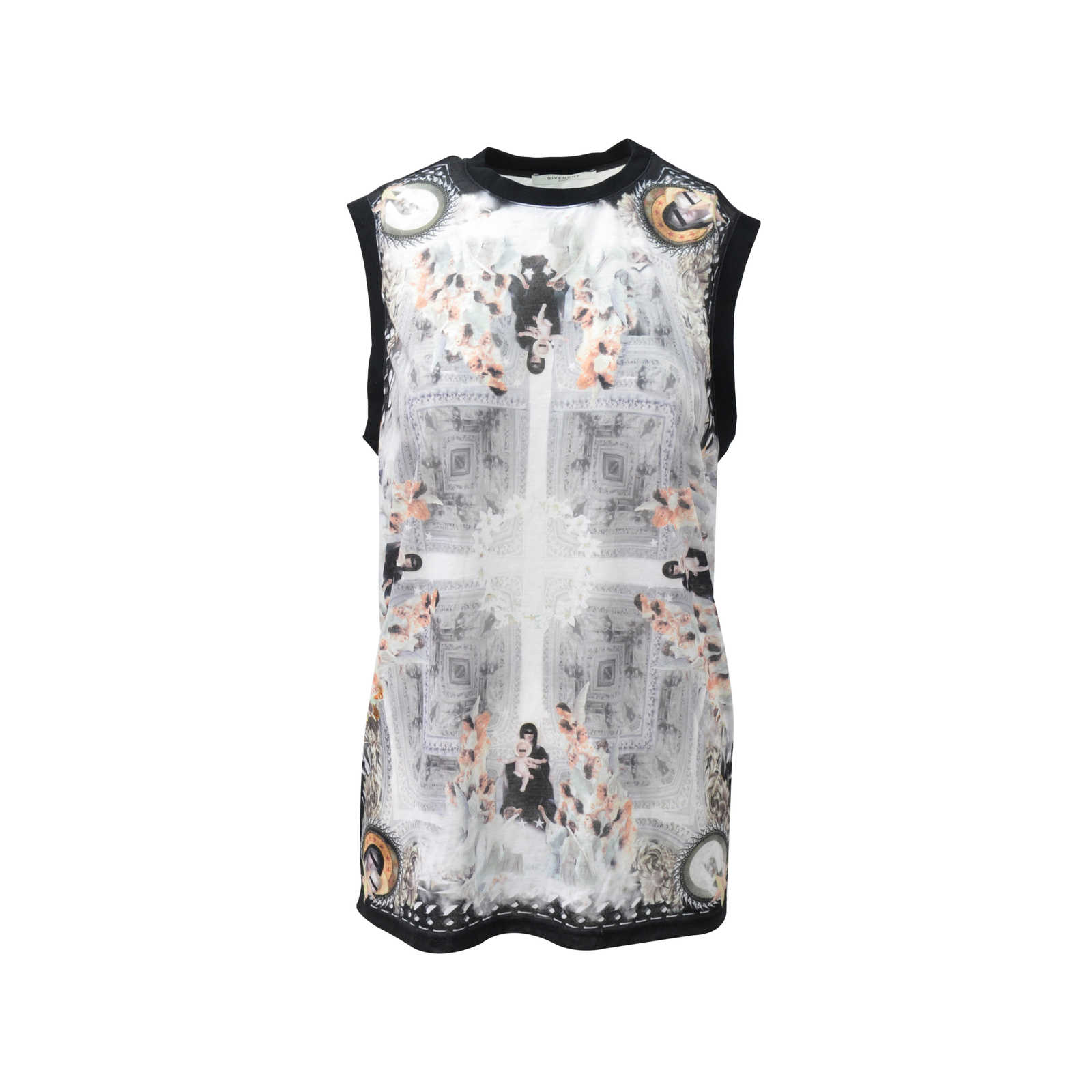 Second hand givenchy sleeveless print t shirt the fifth Givenchy t shirt price