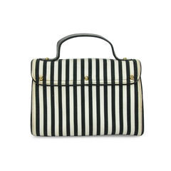 Lulu guinness women s patchwork on stripe clutch 2