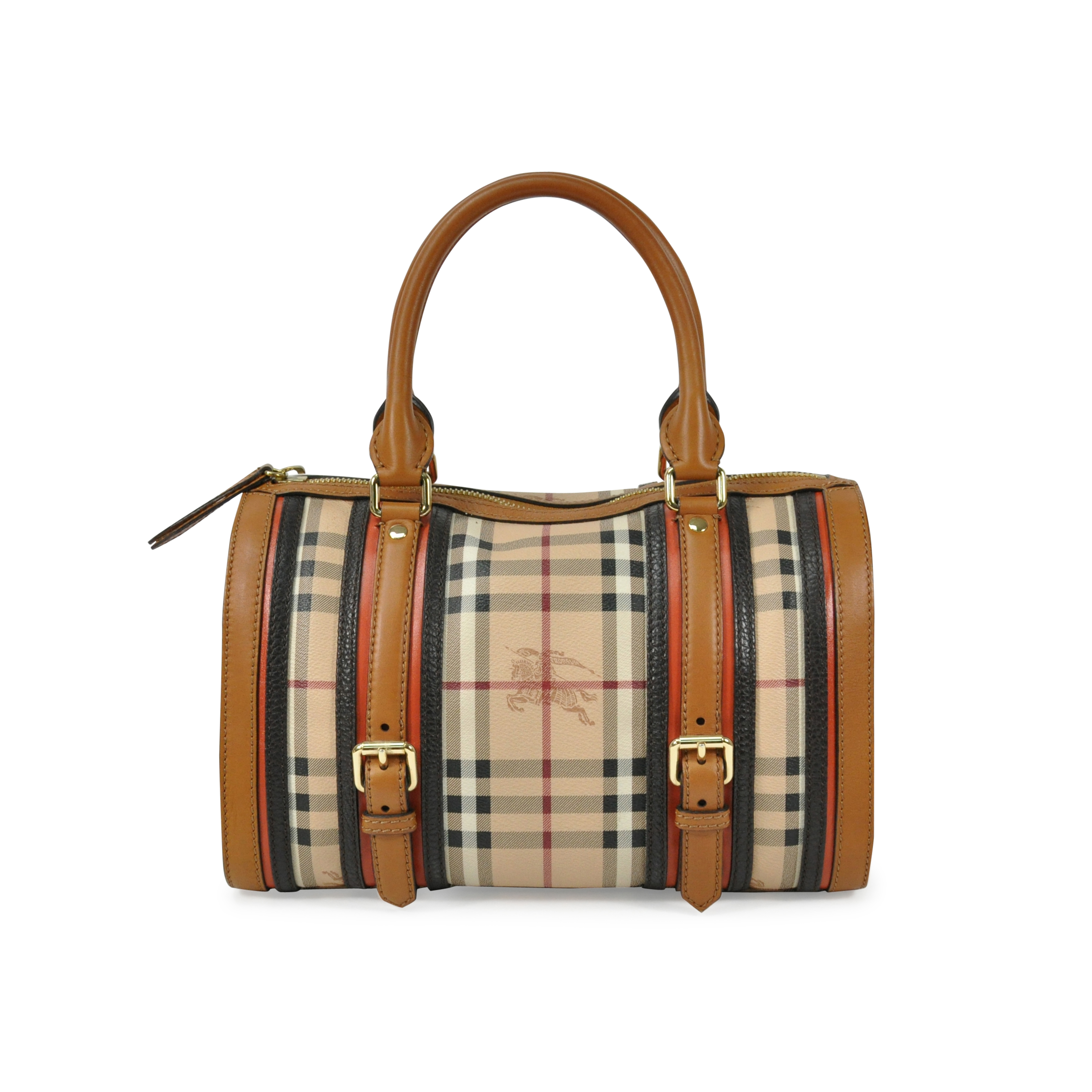Authentic Second Hand Burberry Alchester Bowling Bag (PSS-305-00001 ... 7161ca068a2b8