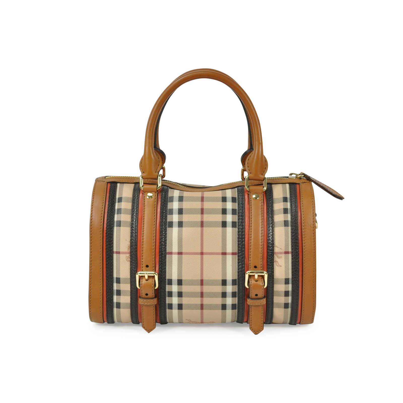 Authentic Pre Owned Burberry Alchester Bowling Bag (PSS-305-00001 ... 871566cfcf6a0