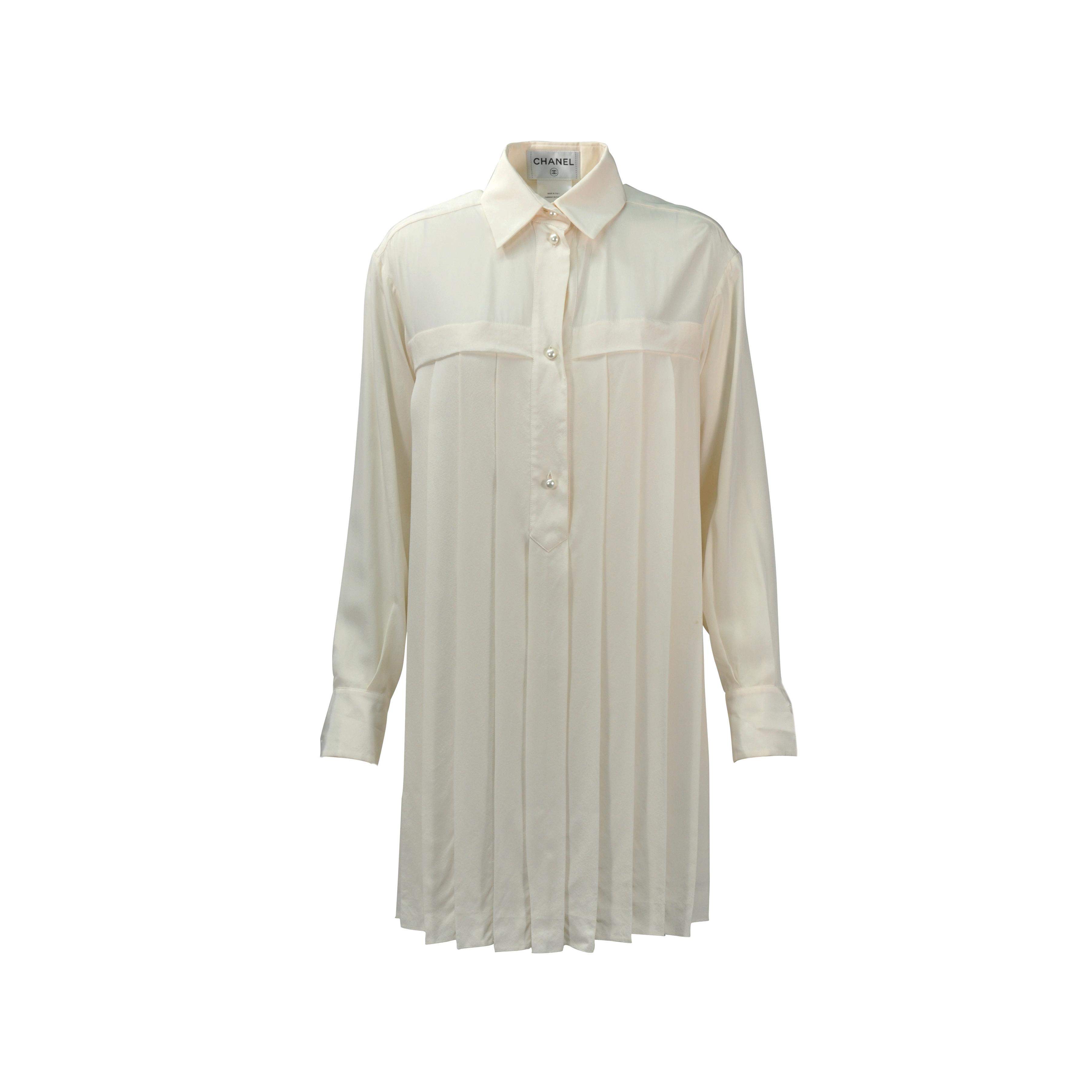 8eb8e9328 Chanel Silk Shirt | RLDM