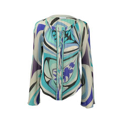 Silk Multicolor Blouse