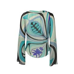Emilio pucci silk multicolor blouse 2