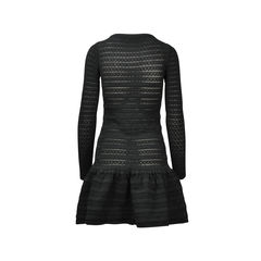 Valentino bow detail ruffle hem dress 2