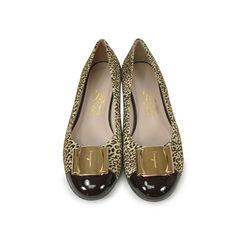 Leopard Suede Ballerinas