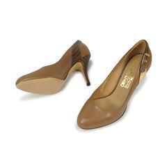 Salvatore ferragamo alpaca calf salvatore heels 2
