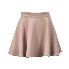 Flared Wool Skirt