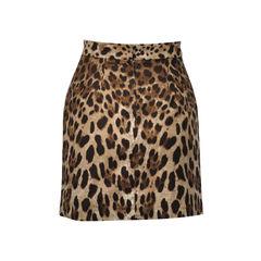 Dolce and gabbana leopard print mini skirt 2