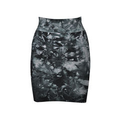 Abstract Tie Dye Bandage Skirt