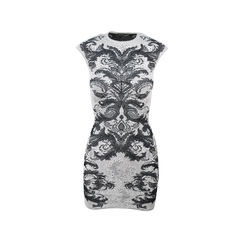Spine Lace Crochet Dress