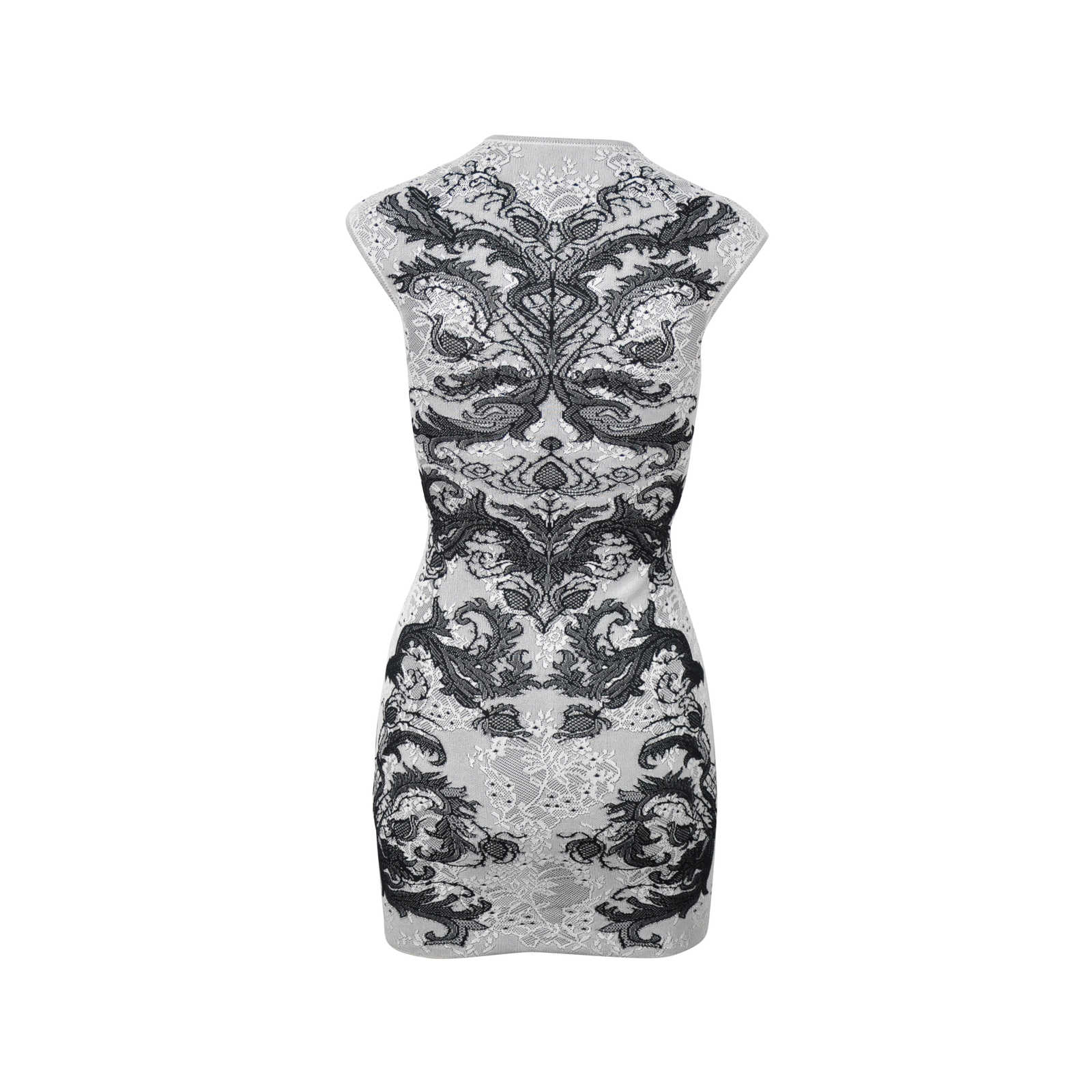 bb9935ab602 ... Authentic Second Hand Alexander McQueen Spine Lace Crochet Dress  (PSS-313-00014) ...
