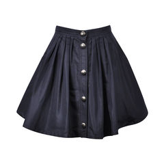 Button Down Pocket Skirt