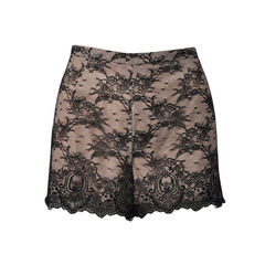 Argyle Chantilly Lace Shorts