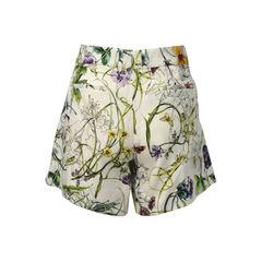 Gucci printed linen shorts 2