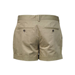 Dolce and gabbana brown cotton shorts 2
