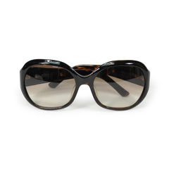 Sunglasses With Metal Side Detail