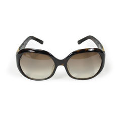 Marc jacobs sunglasses with metal side detail 2