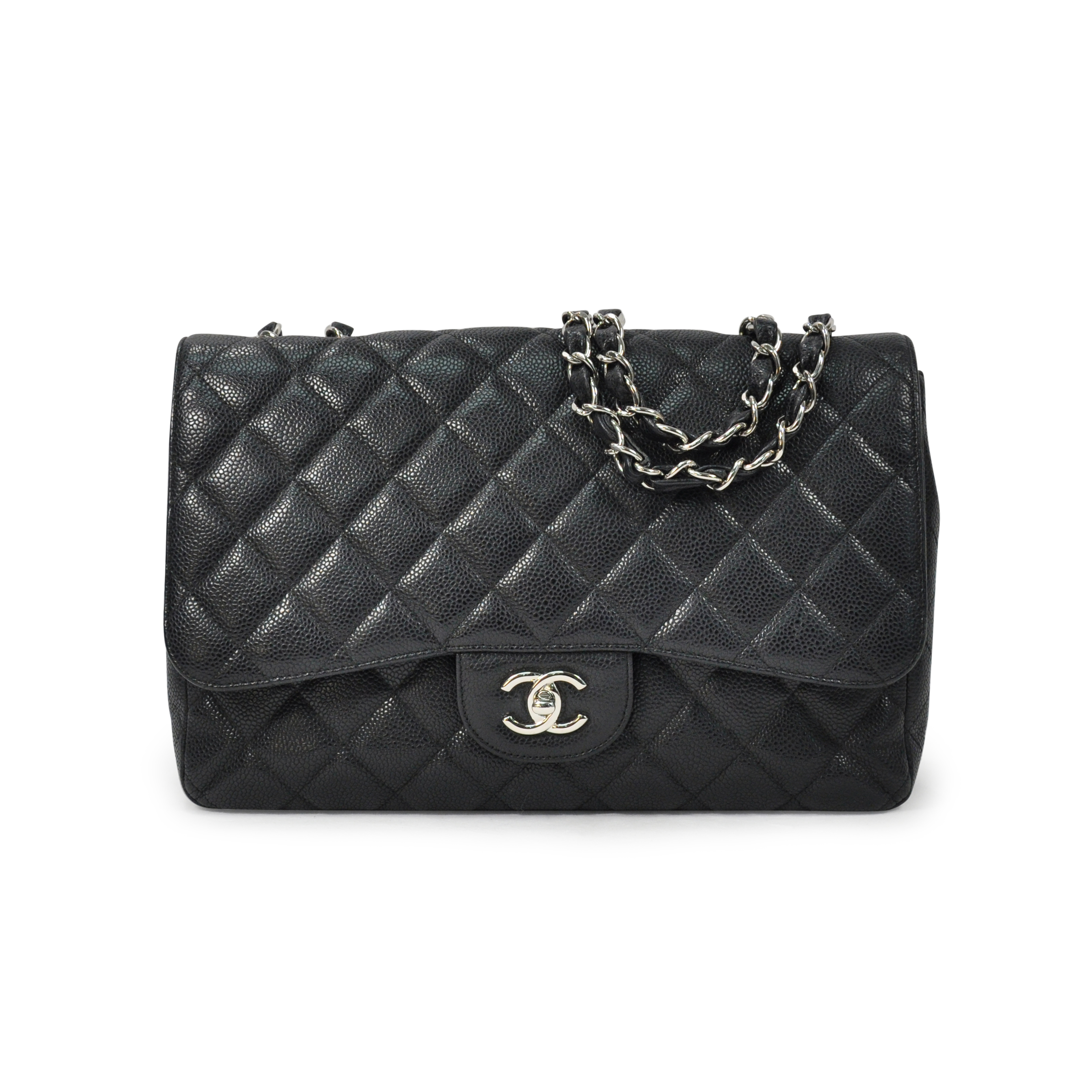ffc1a772a25f Authentic Second Hand Chanel Caviar Jumbo Single Flap (PSS-311-00014) | THE  FIFTH COLLECTION