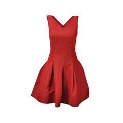 Sleeveless Flare Skirt Dress