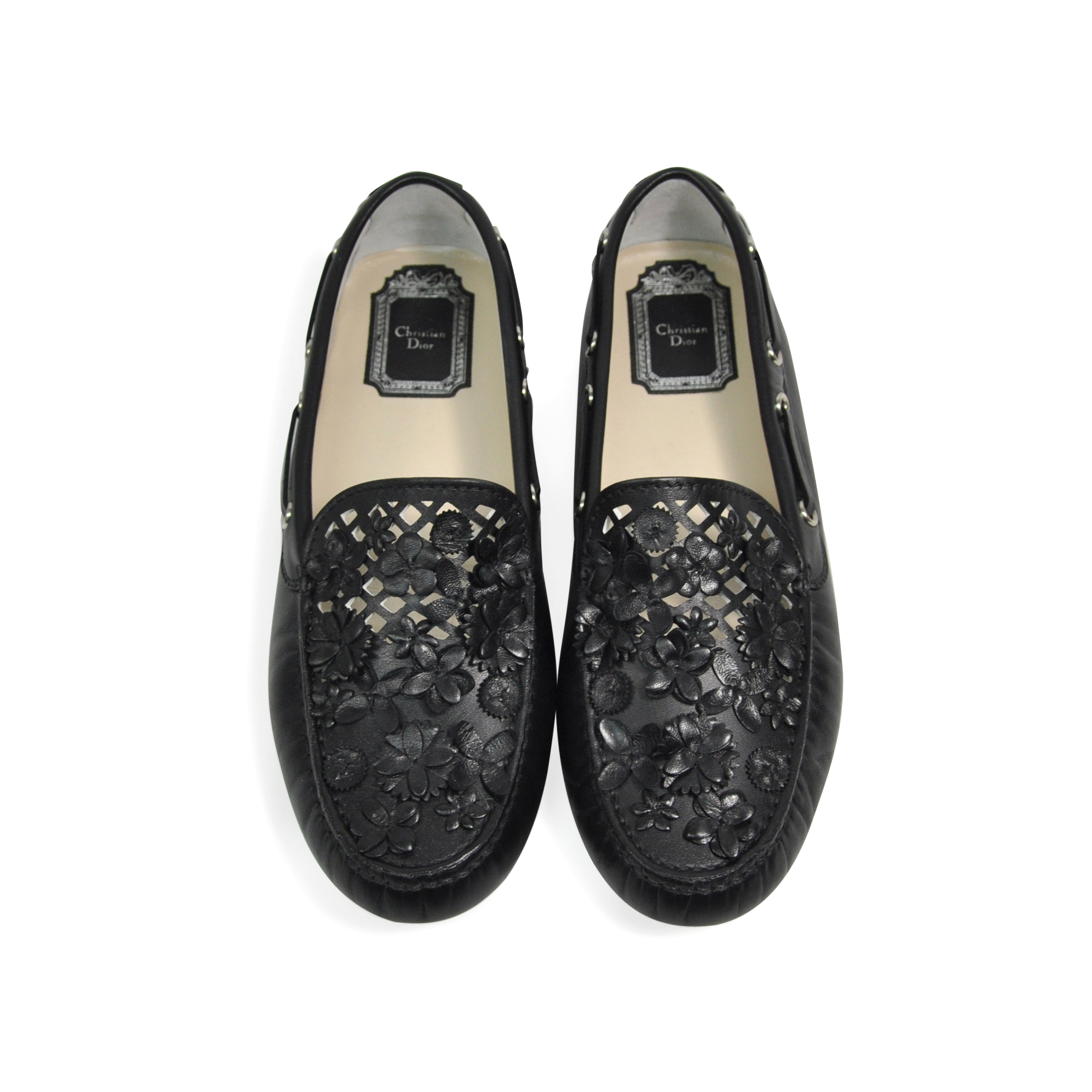 outlet fast delivery Christian Dior Snakeskin Logo Loafers discount wholesale price with mastercard cheap online cheap sale purchase cX8n4v5yM