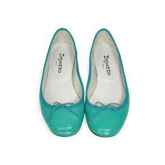 Embossed Ballerina Flats