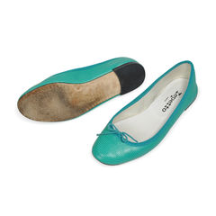 Repetto embossed ballerina flats 2