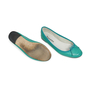 Authentic Second Hand Repetto Embossed Ballerina Flats (PSS-283-00014) - Thumbnail 2