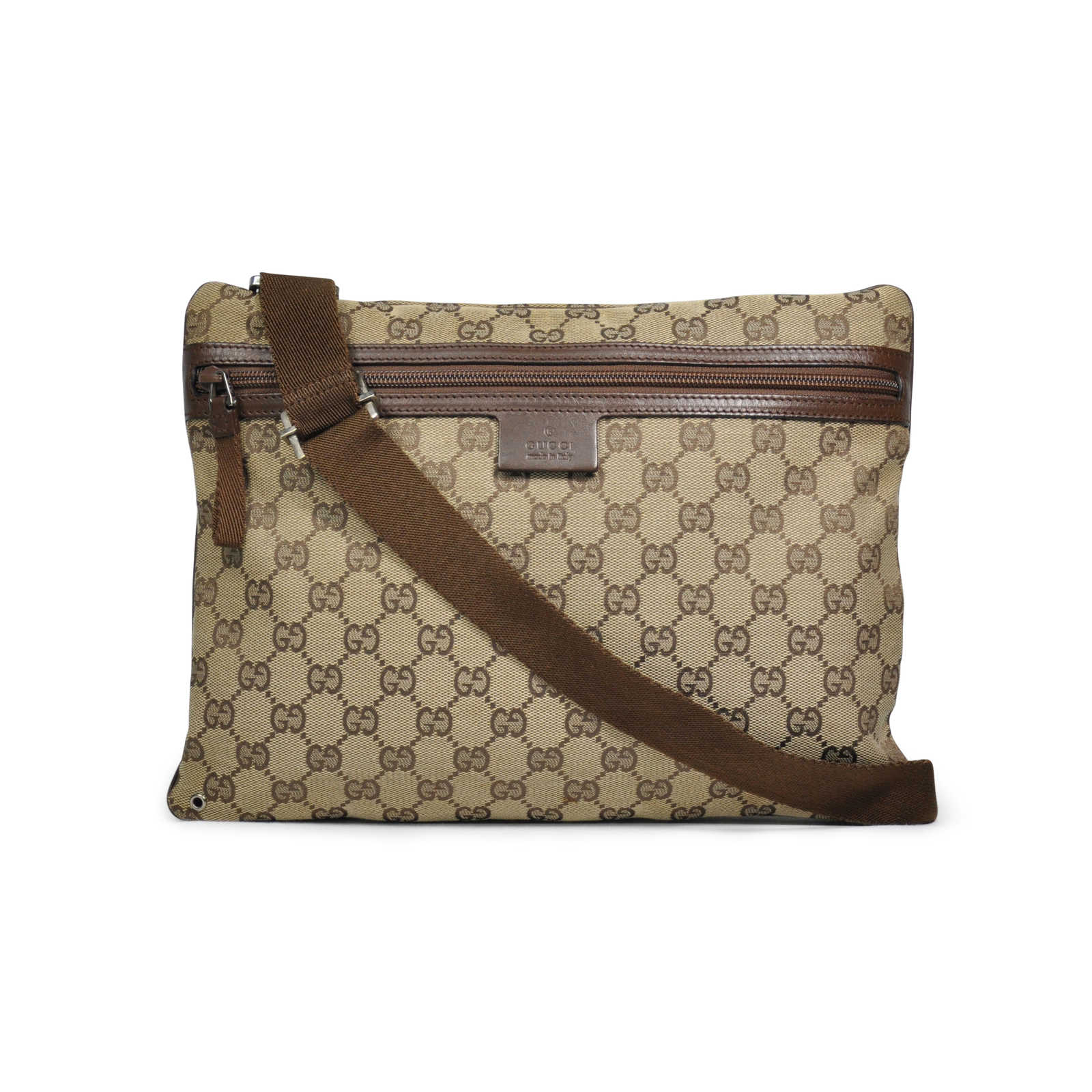 b9416264bec4 Authentic Second Hand Gucci Monogram Crossbody Bag (PSS-283-00004) -  Thumbnail ...