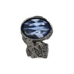Arty Oval Ring