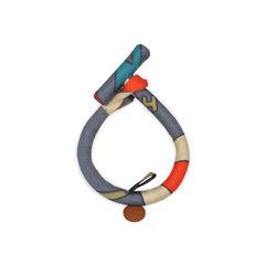 Hermes petit h silk bangle multicolour 2