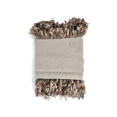 Loewe loewe silk fringe scarfs 2
