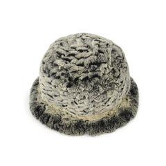 Frr knit rex rabbit bucket hat 2