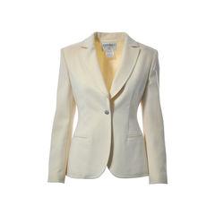 Ivory Single Buttoned Blazer