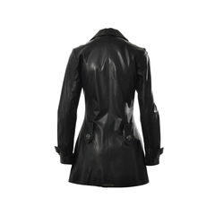 Chrome hearts black leather jacket 2