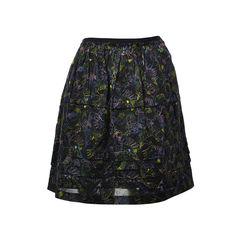 Coloured Thread Skirt