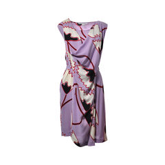 Naira Short Wrap Dress