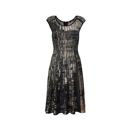 Authentic Second Hand NIC + ZOE Twirl Knit  Flared Dress (PSS-295-00009)