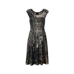 Twirl Knit  Flared Dress