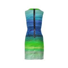 Elie tahari ombre sleeveless dress 2