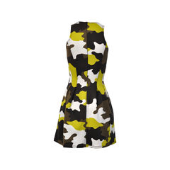 Michael kors michael kors camo print fit flare dress 2