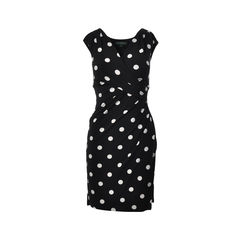 Polka Dot Wrap Dress