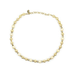 Pearl and Gilt Necklace