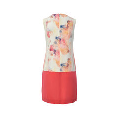 Rebecca taylor sleeveless silk floral print dress 2