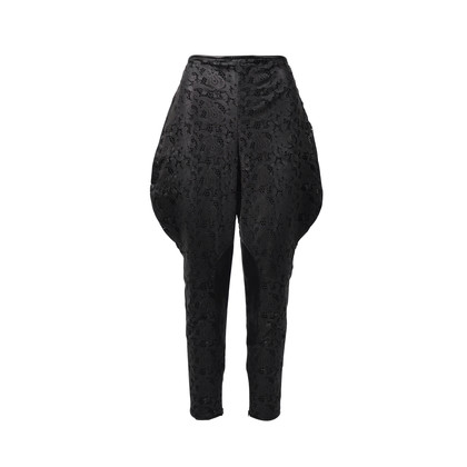 Authentic Second Hand Ralph Lauren Laser Cut Leather Pants (PSS-200-00488)