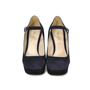 Authentic Second Hand Prada Two Toned Platform Wedge (PSS-265-00006) - Thumbnail 0